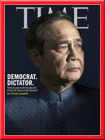 Thailand's Dictator on Time Magazine's Cover