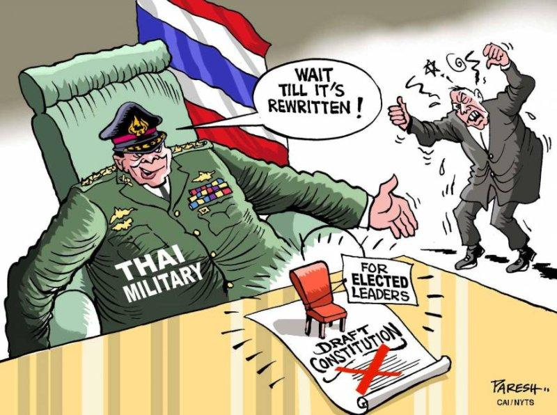 Thailand still under Military Dictatorship?